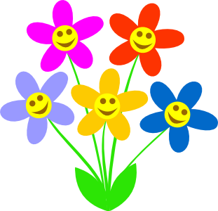 Springtime flowers clipart jpg free download Pin by christina on crafts | Spring flowers, Flowers, Clip art jpg free download