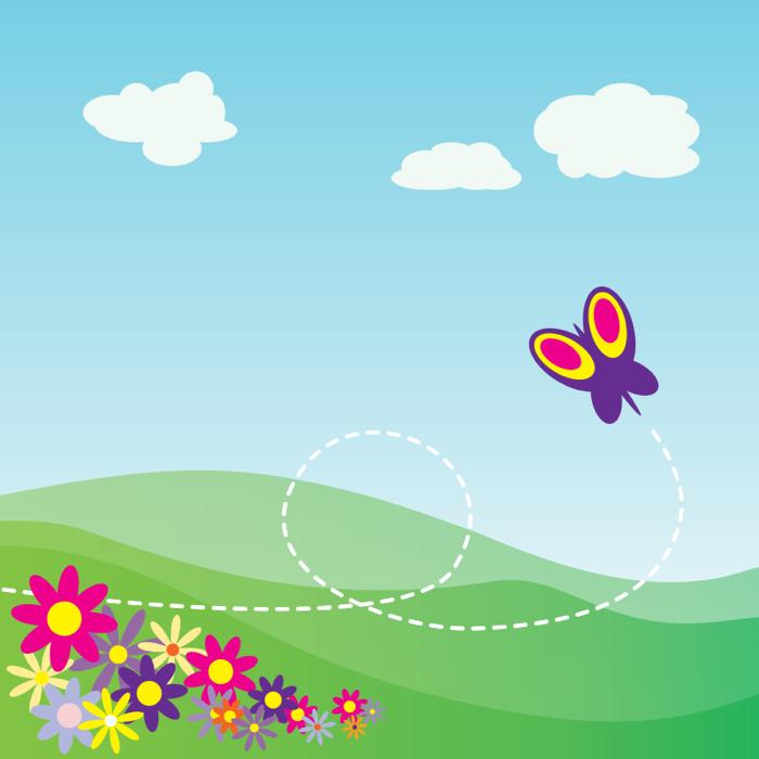 Springtime graphics