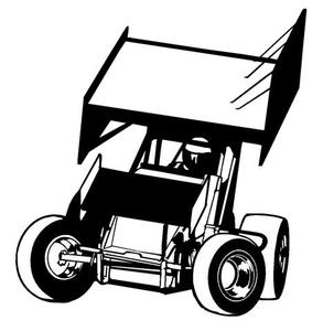 Sprint vector clipart