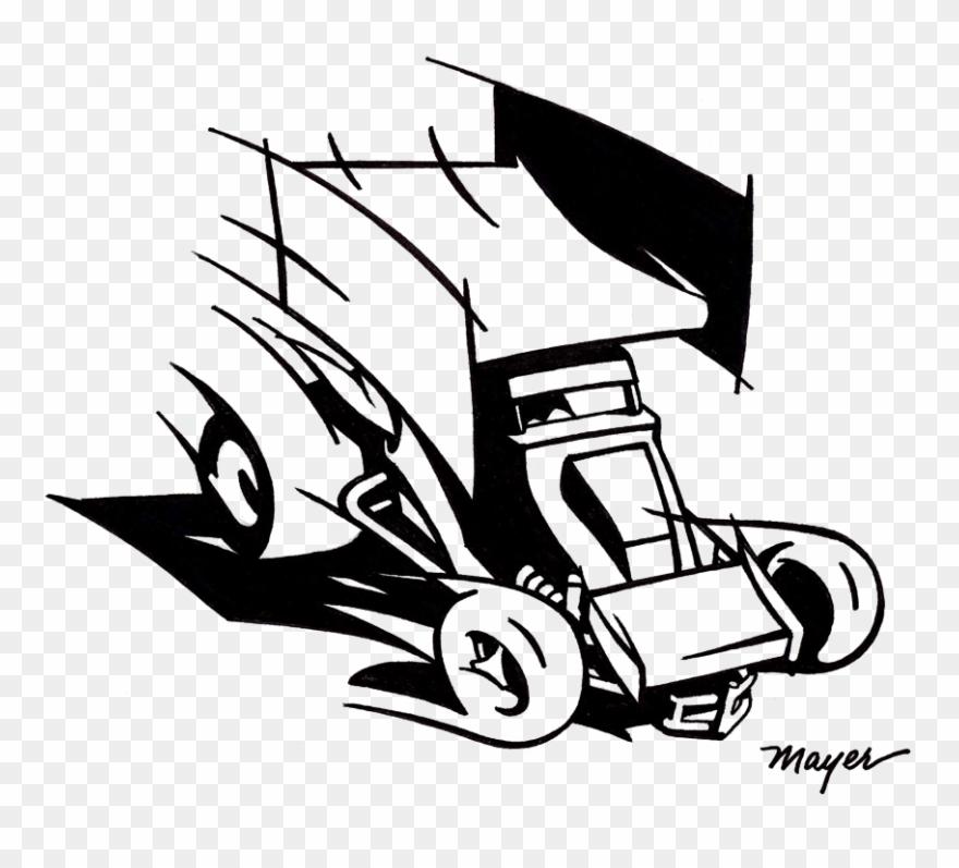 Sprint car cliparts banner stock Cartoon Sprint Car Clipart (#4911124) - PinClipart banner stock