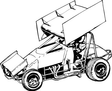 Sprint car cliparts png freeuse download Sprint car clipart 3 » Clipart Portal png freeuse download