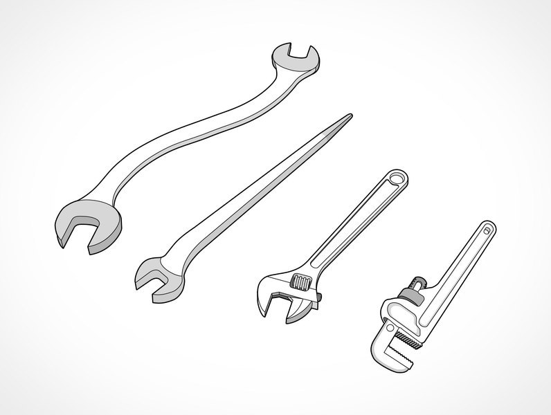 Spud wrench clipart svg free stock Spud wrench clipart 1 » Clipart Portal svg free stock