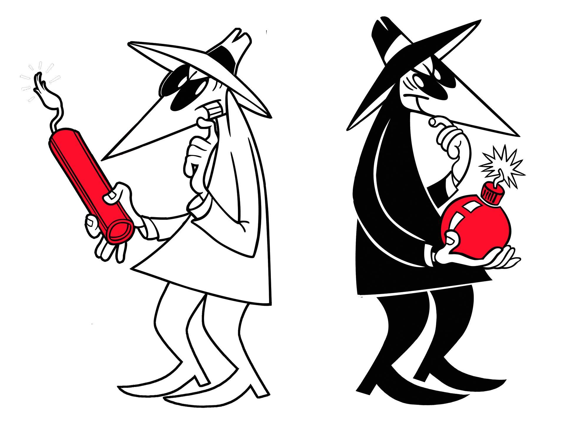 Spy vs spy clipart svg freeuse Spy vs spy clipart - ClipartFest svg freeuse
