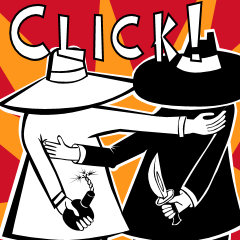 Spy vs spy clipart graphic black and white Shirt.Woot graphic black and white