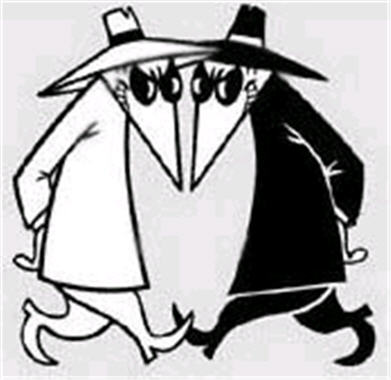 Spy vs spy clipart picture royalty free library Spy vs spy clipart - ClipartFest picture royalty free library