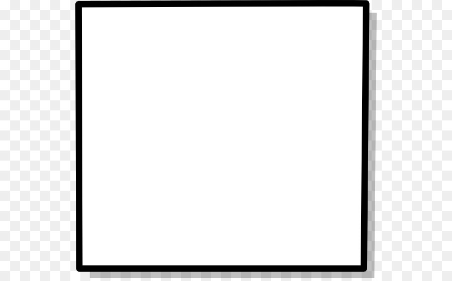 Sqaure clipart black and white banner free library Black And White Frame png download - 600*554 - Free ... banner free library