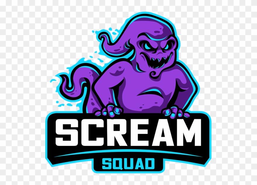Squad logo clipart clip art library stock Scream Squad Logo Clipart (#3548909) - PinClipart clip art library stock
