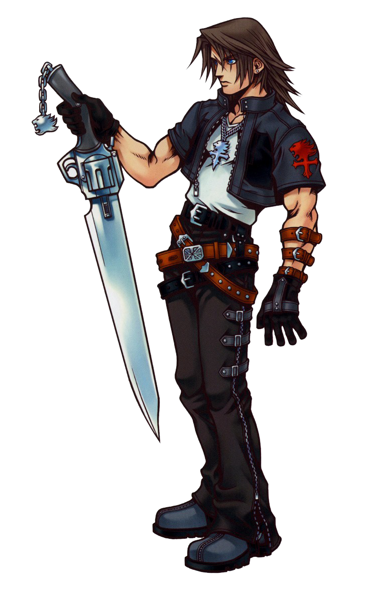 Squall clipart png library library Squall Leonhart PNG Clipart png library library