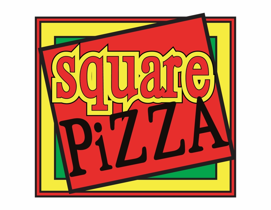 Square pizza clipart vector freeuse stock New Ways To Order Your Favorite Pizza - Square Pizza Free ... vector freeuse stock