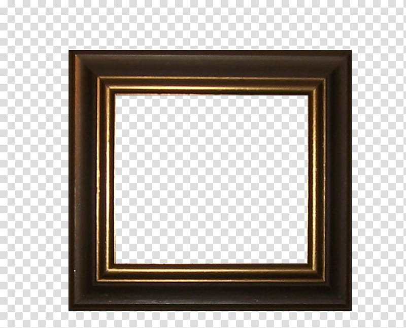 Square wood frame clipart image library Frames, square brown wooden frame art transparent background ... image library