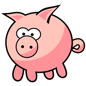 Squeal clipart transparent library Cartoon Pig clipart, cliparts of Cartoon Pig free download ... transparent library