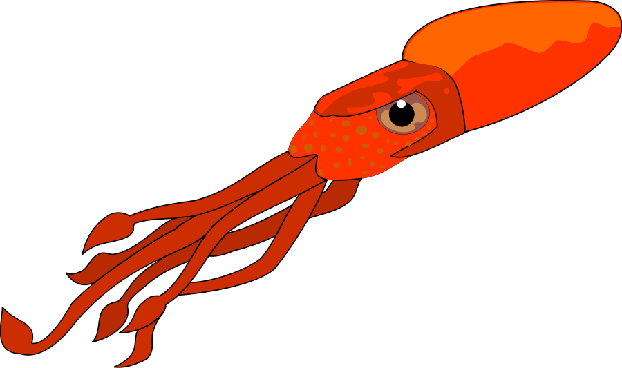 Squid eyes clipart clip art freeuse library Squid Clip Art & Look At Clip Art Images - ClipartLook clip art freeuse library