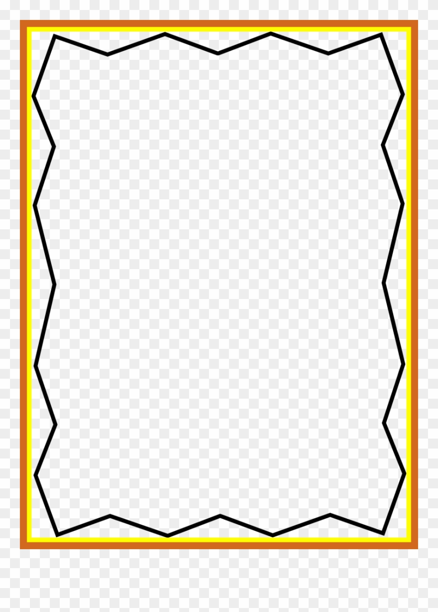 Squiggly line border clipart graphic black and white library Clipart Border Line - Border - Png Download (#2109199 ... graphic black and white library
