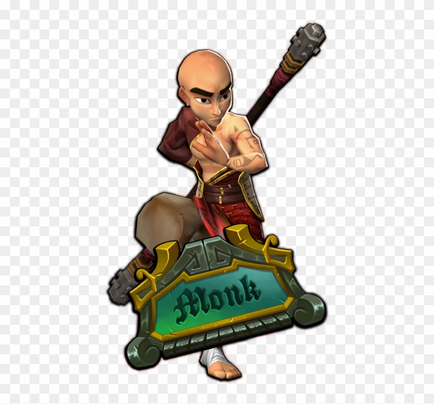 Squire clipart freeuse download Monk Clipart Squire - Dungeon Defenders 2 Monk - Png ... freeuse download