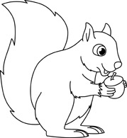 Squirrel clipart black and white graphic free download Free Squirrel Cliparts, Download Free Clip Art, Free Clip ... graphic free download