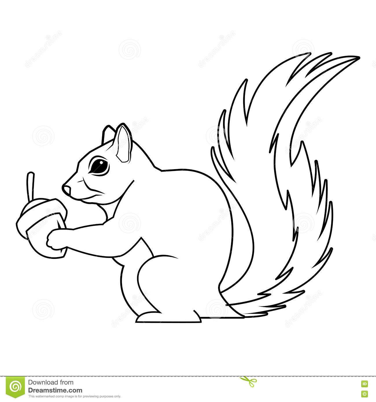 Squirrel clipart black and white picture royalty free Squirrel clipart black and white 2 » Clipart Portal picture royalty free