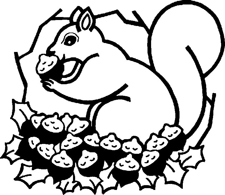 Squirrel in snow clipart black and white image royalty free library Squirrel Clipart   Free download best Squirrel Clipart on ... image royalty free library