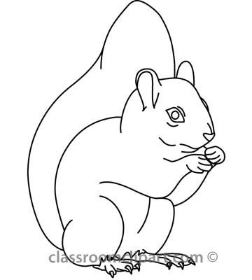 Squirrel in snow clipart black and white vector free library Squirrel black and white squirrel clip art 5 squirrel ... vector free library