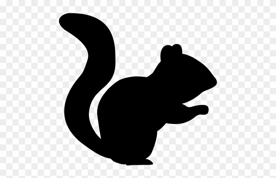 Squirrel silhouette clipart picture royalty free stock Squirrel - Silhouette - Animals Illustration - Squirrel ... picture royalty free stock