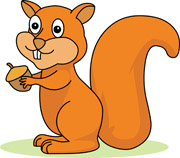 Squirrel with acorn clipart image free Free Squirrel Cliparts, Download Free Clip Art, Free Clip ... image free