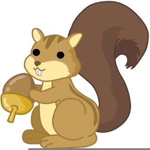 Squirrel with acorn clipart banner library library Clipart Squirrel Acorns | Free Images at Clker.com - vector ... banner library library