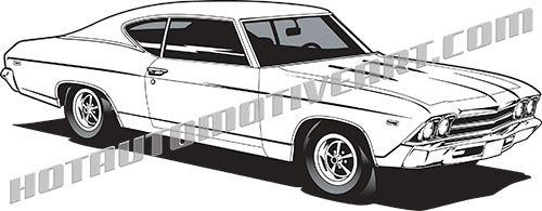 Ss chevelle 1969 clipart graphic transparent stock Chevrolet Chevelle Clipart & Free Clip Art Images #35094 ... graphic transparent stock