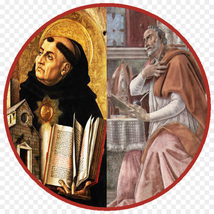St aquinas clipart picture free stock st augustine and st thomas aquinas clipart Augustine of ... picture free stock