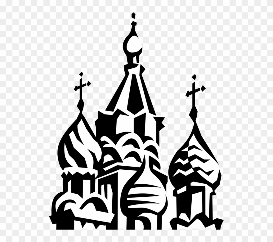 St basil s cathedral clipart png freeuse library St Basil S Cathedral - Russian Buildings Clipart (#701445 ... png freeuse library