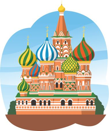 St basil s cathedral clipart graphic library stock Kremlin Saint Basil\'s Cathedral Moscow Russia   krasavitsa ... graphic library stock