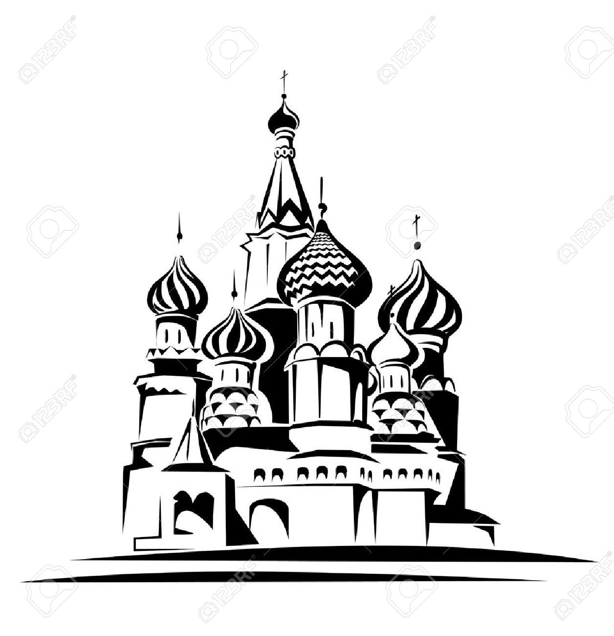 St basil s cathedral clipart clip freeuse stock St basils cathedral clipart 1 » Clipart Portal clip freeuse stock