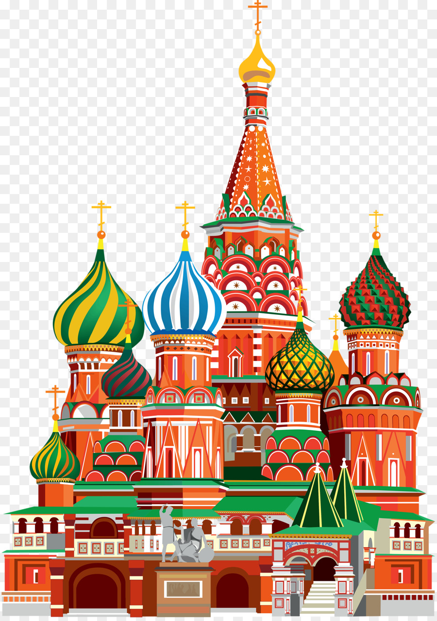 St basil s cathedral clipart transparent Christmas Tree Red png download - 893*1280 - Free ... transparent