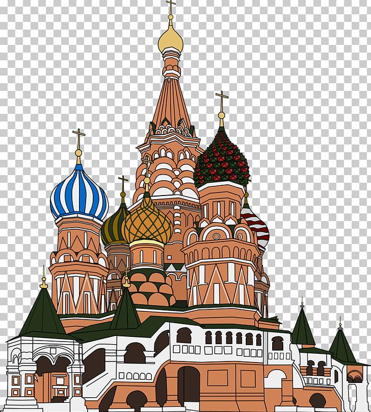 St basil s cathedral clipart clip black and white download Saint Basil\'s Cathedral Red Square In Moscow PNG, Clipart ... clip black and white download