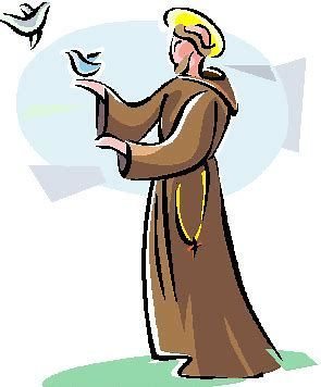 Saint clipart banner library library Image result for St. Francis of Assisi Clip Art Free | Needs ... banner library library