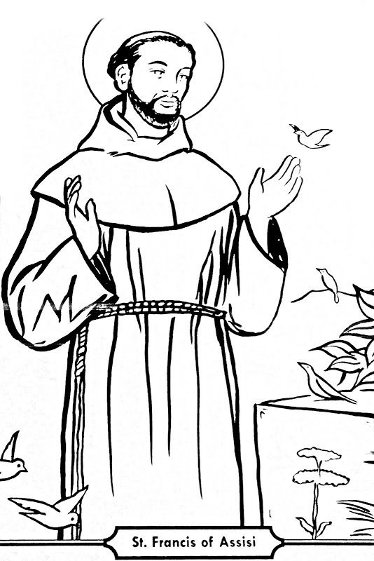 St francis of assisi clipart graphic download St Francis Of Assisi Sketch at PaintingValley.com | Explore ... graphic download