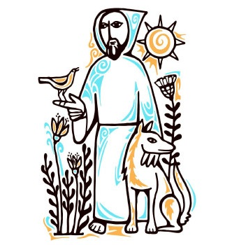 St francis of assisi clipart clip library download Feast of St. Francis of Assisi — Wicker Park Lutheran Church clip library download
