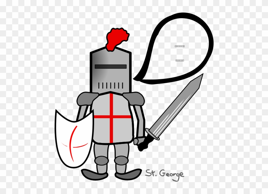 St george and the dragon clipart clipart royalty free download St George And The Dragon Svg Vector File, Vector Clip ... clipart royalty free download