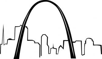 St louis arch clipart free banner free Free Gateway Arch Cliparts, Download Free Clip Art, Free ... banner free