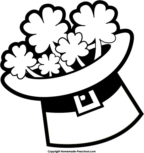 St patrick s day clipart black and white graphic library download St Patrick Day Png Black And White & Free St Patrick Day ... graphic library download