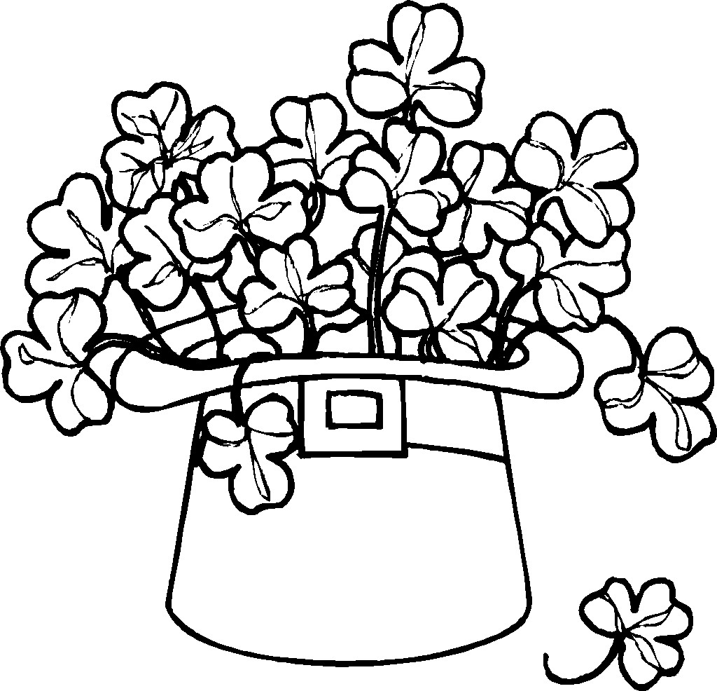 St particks day clipart black and white image royalty free download Black and white st patricks day clipart 4 » Clipart Station image royalty free download