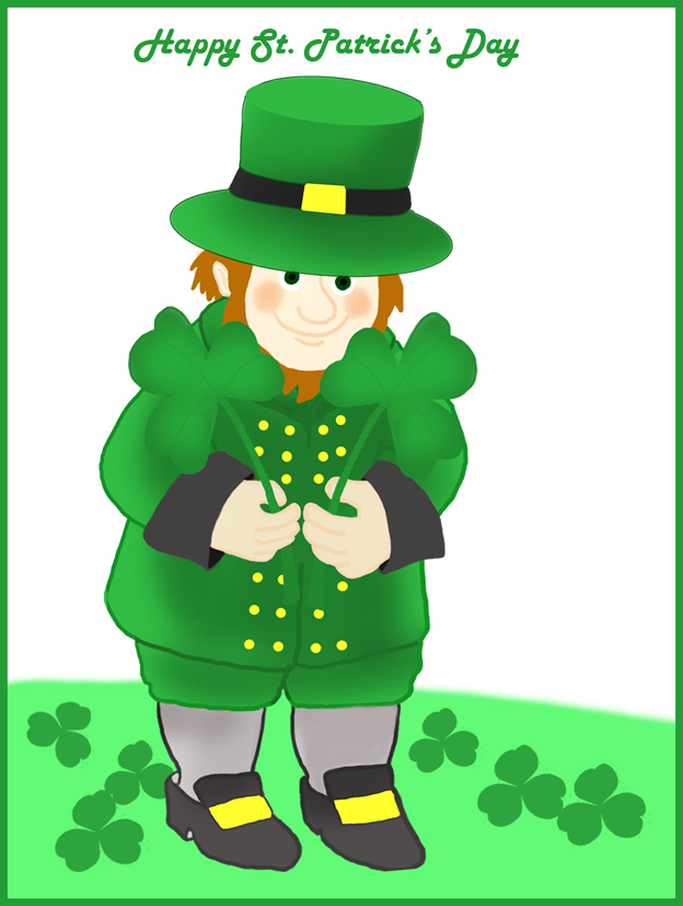 Top of the mornin to you st patrick s day clipart