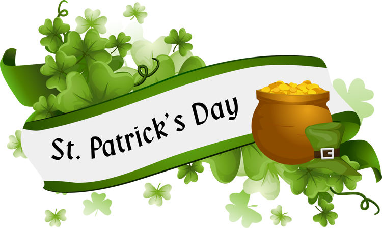 St patricks day celebration clipart clip black and white Learn About St. Patrick\'s Day with Free Printables ... clip black and white
