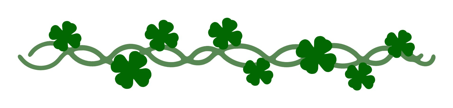 St patricks day divider clipart graphic black and white St Patricks Day Clipart at GetDrawings.com | Free for ... graphic black and white