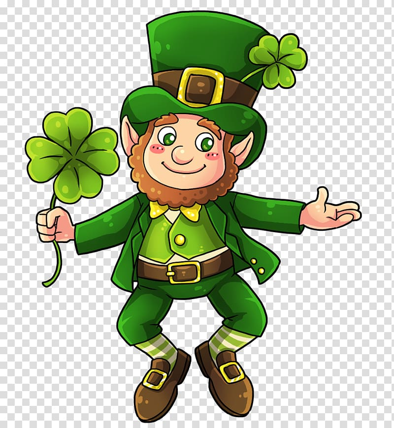 St patricks day divider clipart png transparent download Leprechaun Free content , Shamrock Divider transparent ... png transparent download