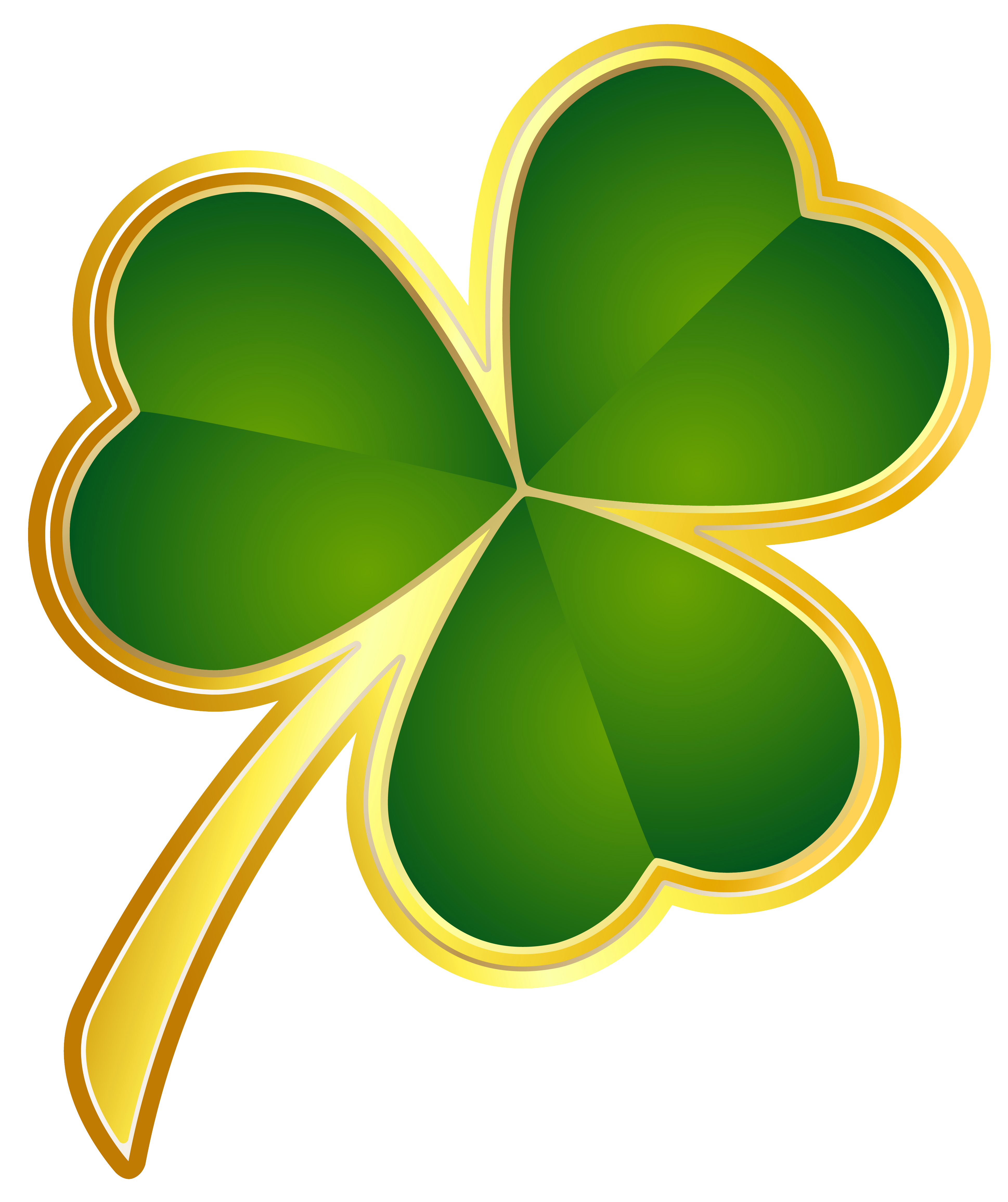St patricks day shamrock clipart graphic freeuse download St Patricks Day Gold Shamrock PNG Clipart | Gallery ... graphic freeuse download