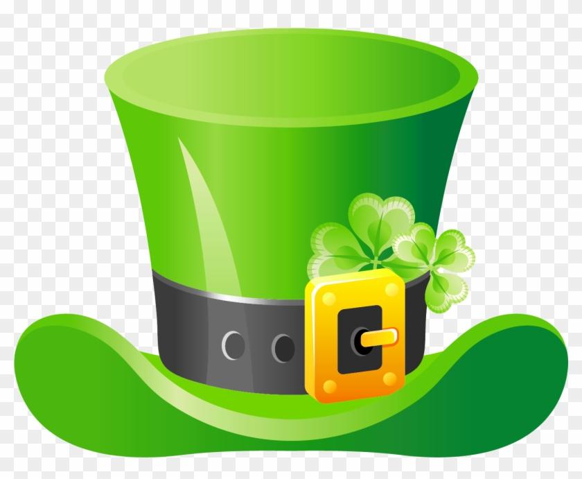 St patricks pictures clipart jpg transparent Shamrock Clipart Leprechaun Hat - St Patricks Day Hat Clip ... jpg transparent