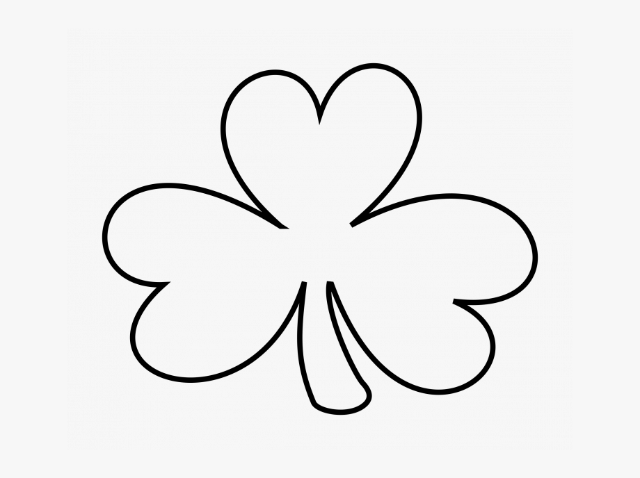 Free clipart blackline st patrick s day. Grass black and white