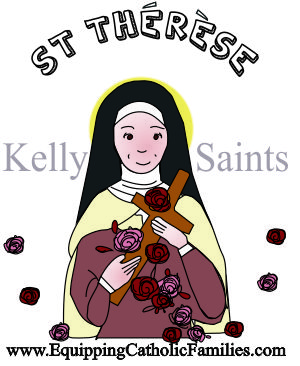 St therese clipart graphic free library Feast Day Fun Saint Thérèse graphic free library