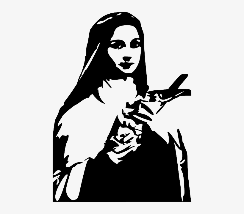 St therese clipart clip art royalty free library Saint Therese Is Loved Throughout The World - St Therese Of ... clip art royalty free library