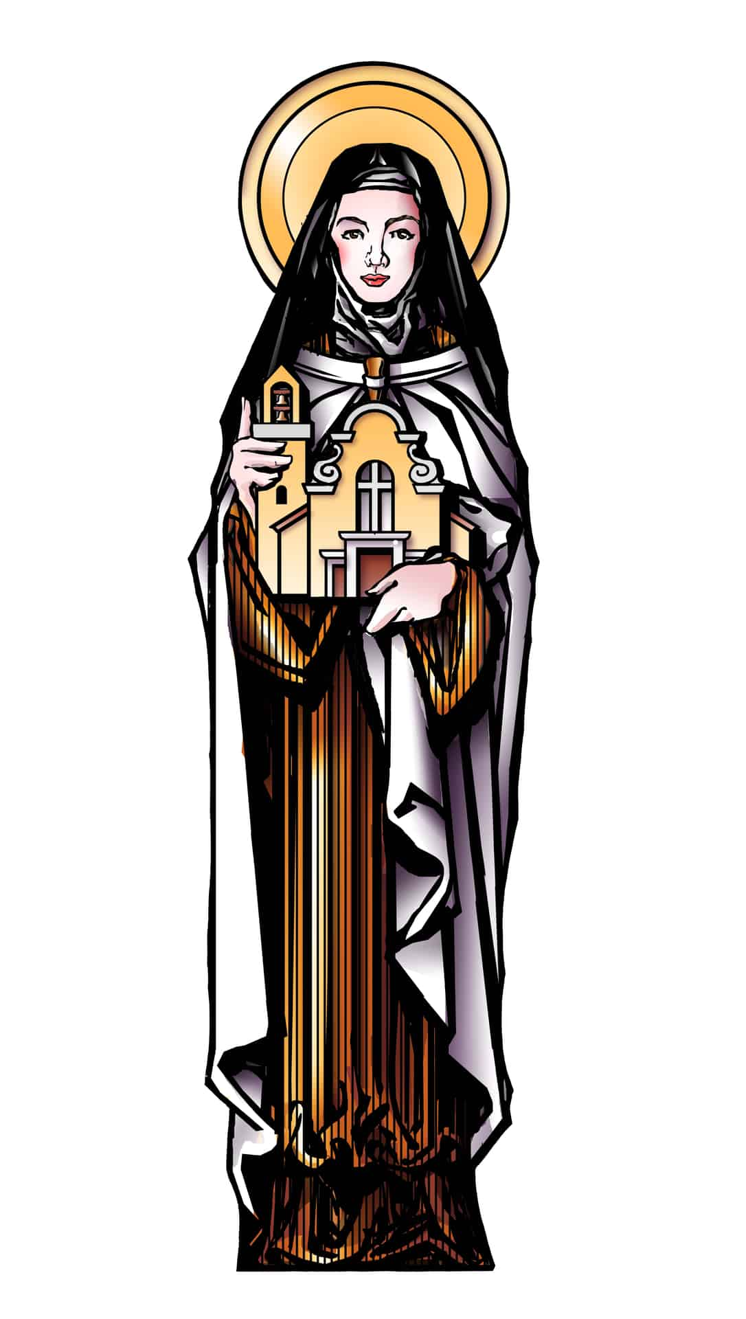 St therese clipart picture transparent stock St. Thérèse of Lisieux | The Little Way picture transparent stock