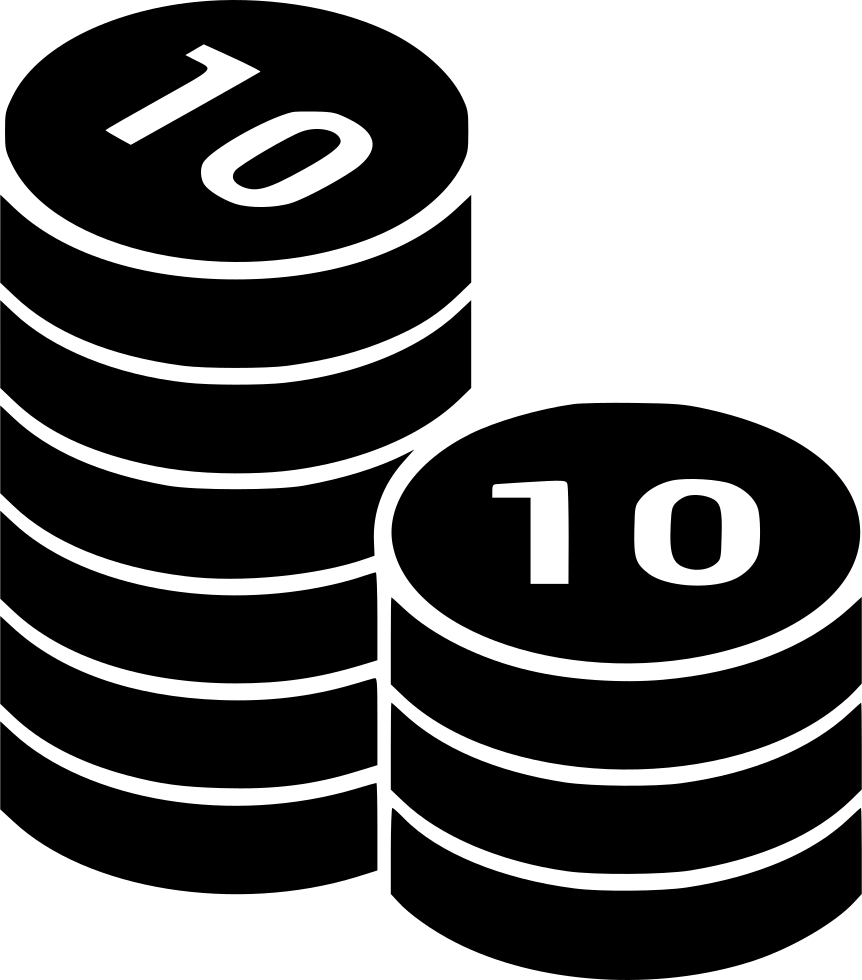 Stack bag of money clipart svg file clip art freeuse Coins Coin Columns Money Cash Currency Stack Treasure Svg Png Icon ... clip art freeuse